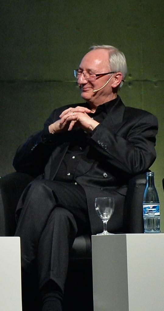 Herbert Fischer-Solms auf dem Stuttgarter Sportgespräch 2014