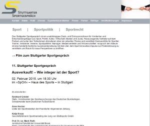 Stuttgarter Sportgespräch